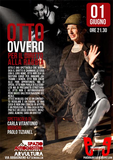 Spettacolo teatrale Carla Vitantonio arvultura
